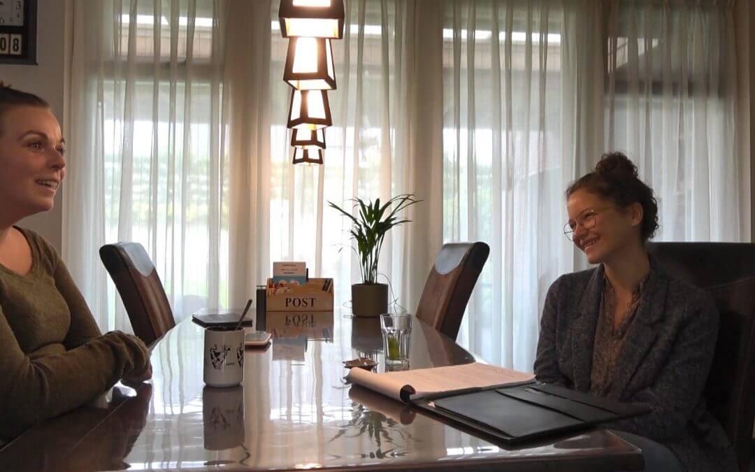 gesprek met Amber over hondenschool MoVi Academy